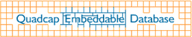 Quadcap Embeddable Database Logo
